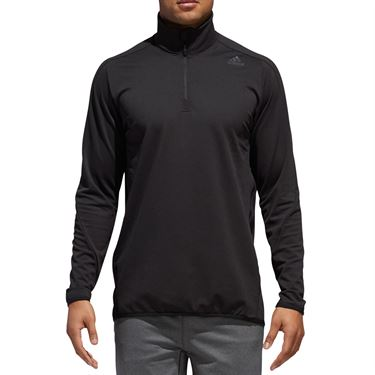 adidas Ultimate Transitional 1/4 Zip - Black