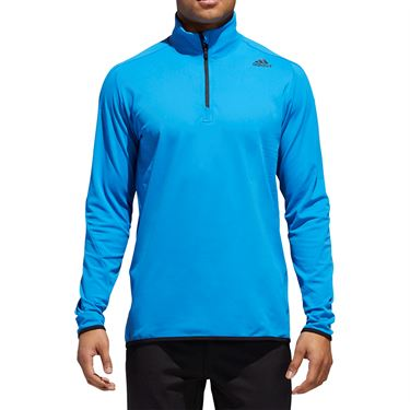adidas Ultimate Transitional 1/4 Zip - Bright Blue