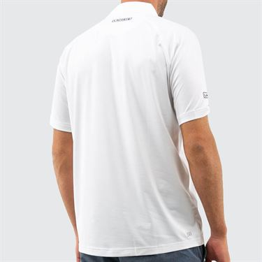 Lacoste Novak Polo Mens White DH7974 522