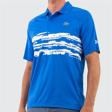 Lacoste Novak Polo Mens Nattier Blue DH7974 JFL