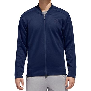 adidas Sport Track Bomber Jacket - Collegiate Navy