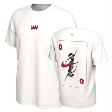 Nike Queen of the Court Serena Tee Womens White DM5365 100