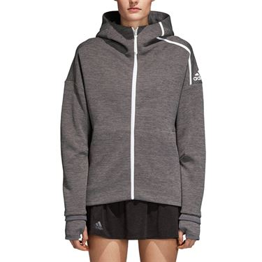 adidas Tennis ZNE Hoody - Zone Heather/Dark Grey Heather