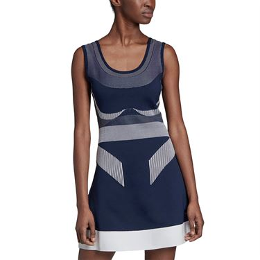 adidas Stella McCartney Prime Knit Dress - Night Indigo