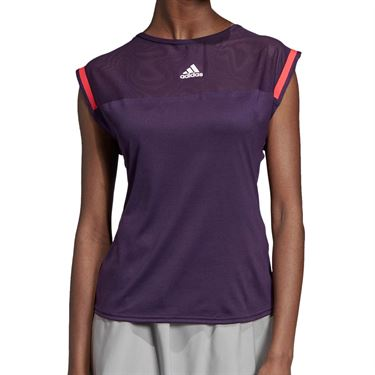adidas Escouade Tee - Legend Purple/Shock Red