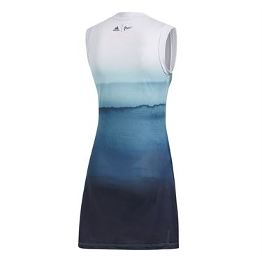 adidas Parley Dress - White/Easy Blue