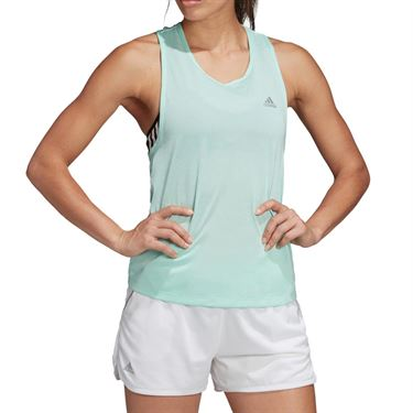 adidas Club Tie Tank - Clear Mint Heather