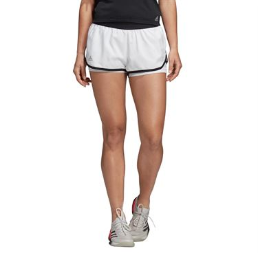 adidas Club Short - White/Black