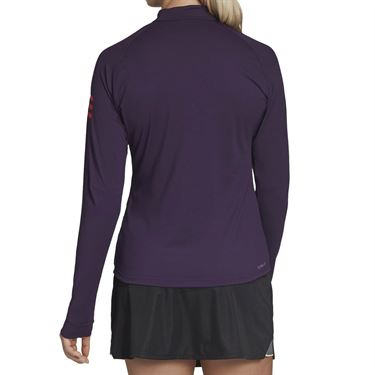 adidas Club Midlayer 1/4 Zip - Legend Purple