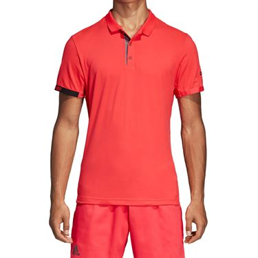 adidas Code Polo - Shock Red