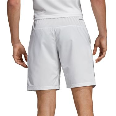 adidas Club 3 Stripe Short Mens White/Black DP0302