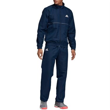 adidas Club Warm Up - Collegiate Navy/White