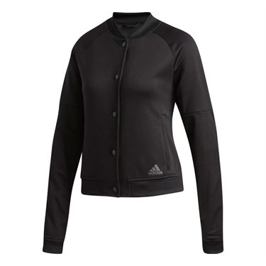 adidas Snap Jacket - Black/White