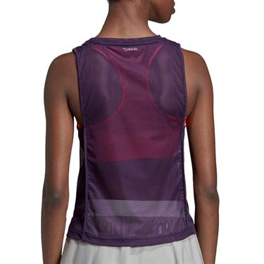 adidas Escouade Tank - Legend Purple/Shock Red