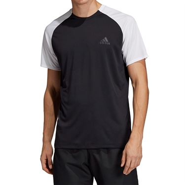 adidas Club Colorblock Crew - Black/White