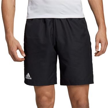 adidas Club Short 9 inch Mens Black/White DU0877