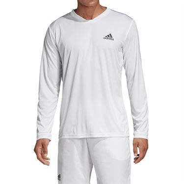 adidas UV Protect Long Sleeve - White/Black