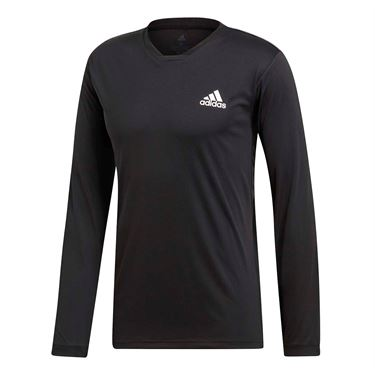 adidas UV Protect Long Sleeve - Black/White