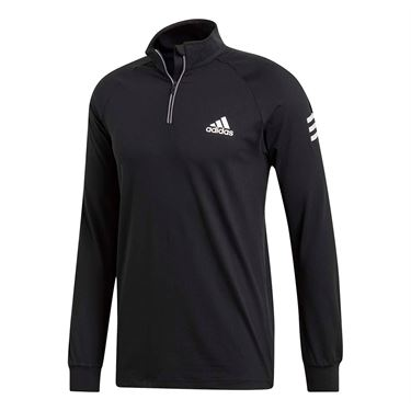 adidas Club 1/4 Zip Midlayer - Black/White
