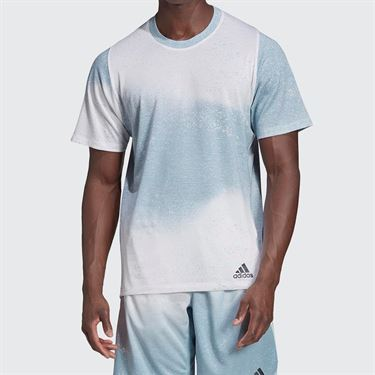 adidas Sport Spray Graphic Tee - White/Ash Grey