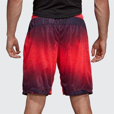 adidas Sport Spray Graphic 9 inch Short - Shock Red/Legend Ink