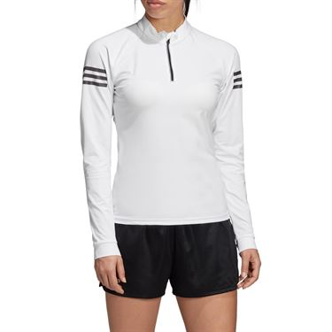 adidas Club Midlayer Top - White