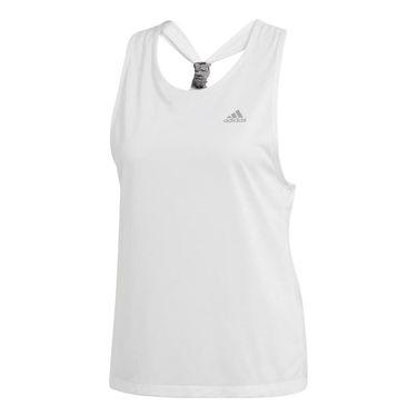 adidas Club Tie Tank - White