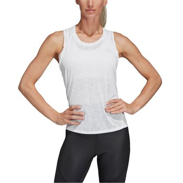 adidas Contemporary Training Tank - White