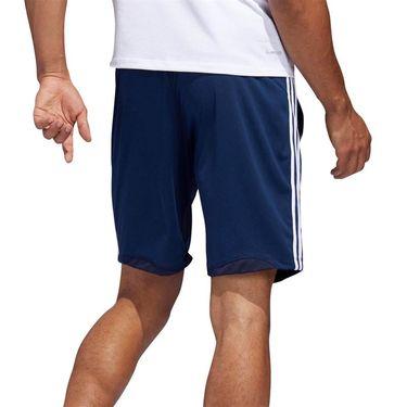 adidas Sport 3 Stripe 9 Inch Short - Legend Ink/Heather