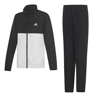 adidas Boys Club Warm Up - Black/White