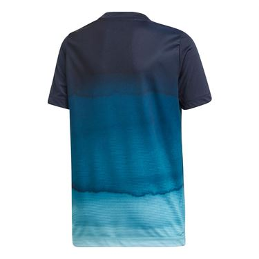 adidas Boys Parley Printed Tee - Legend Ink
