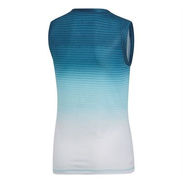adidas Girls Parley Tank - Blue Spirit/White