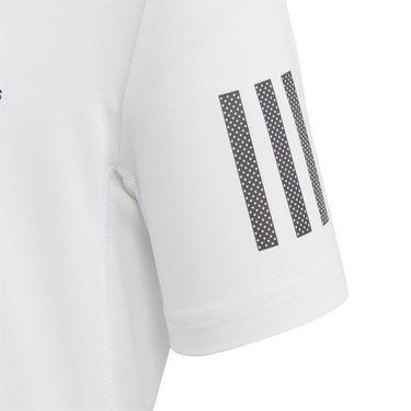 adidas Boys Club 3 Stripe Tee Shirt