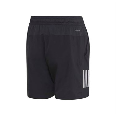 adidas Boys Club 3 Stripe Short Black/White DU2490