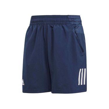 adidas Boys Club 3 Stripe Short - Collegiate Navy