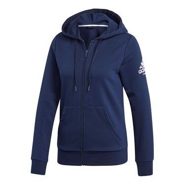 adidas Club Hoodie - Collegiate Navy/White