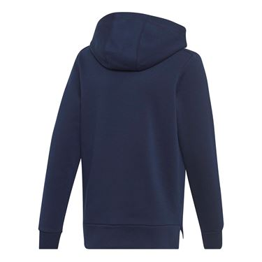adidas Boys Club Hoodie - Collegiate Navy/White