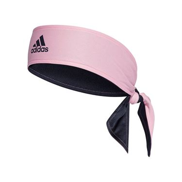 adidas Tennis Reversible Tieband - True Pink/Legend Ink/White