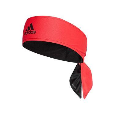 adidas Tennis Reversible Tieband - Black/Shock Red/White