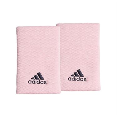 adidas Tennis Large Wristband - True Pink/Legend Ink
