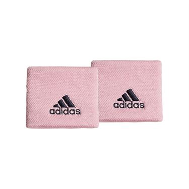 adidas Tennis Small Wristband - True Pink/Legend Ink