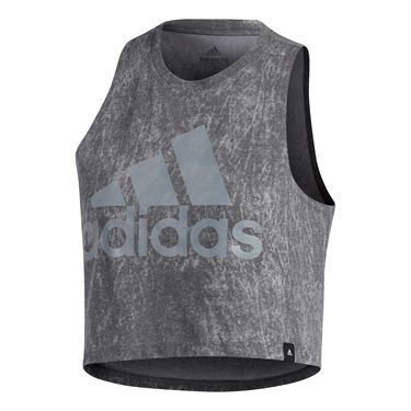 adidas Summerwash Crop Tee - Black