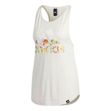 adidas Floral Ess Tank - Raw White