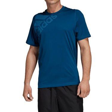 adidas Freelift Sport Graphic Tee - Legend Marine