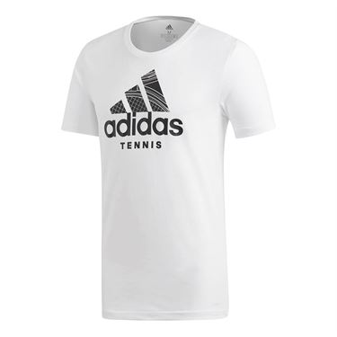 adidas Tennis Graphic Tee - White