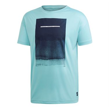 adidas Parley Graphic Tee - Blue Spirit