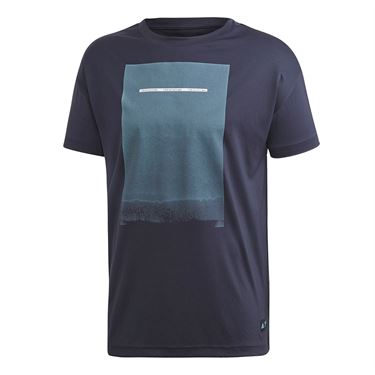 adidas Parley Graphic Tee - Legend Ink