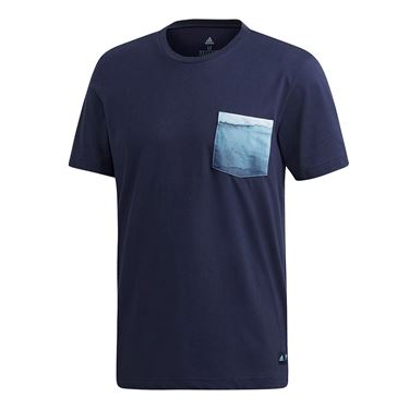 adidas Parley Pocket Tee - Legend Ink
