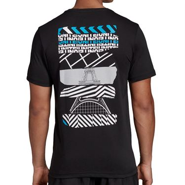 adidas Paris Graphic Tee - Black