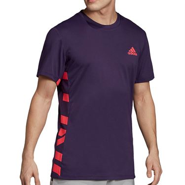 adidas Escouade Crew - Legend Purple/Shock Red